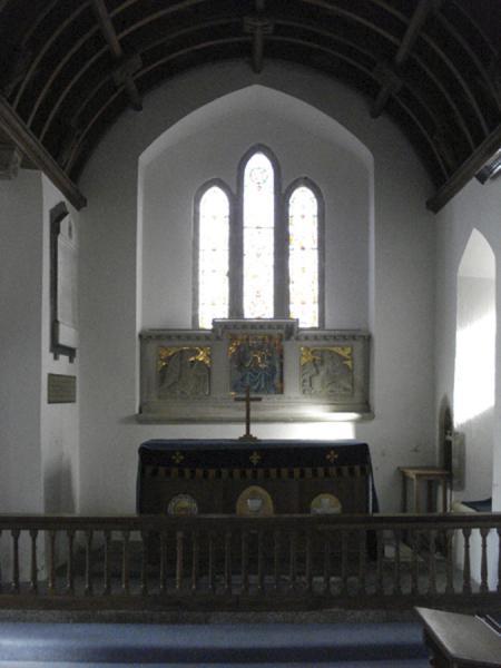 Inside the Manaccan church