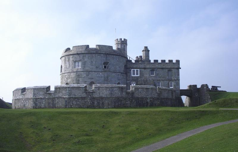 Pendennis Castle, Falmouth; built 1540-1545 for Henry VIII