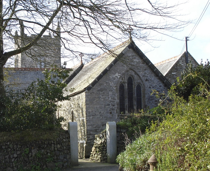 Manaccan church