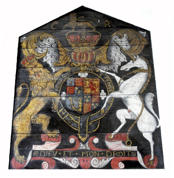 Coat of arms, Charles I