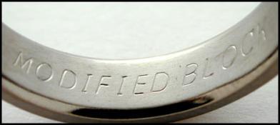 inside ring engraving modified block style - Wedding Ring Engraving