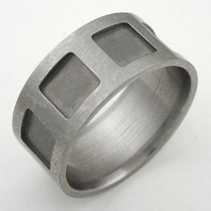 A titanium ring, before resizing