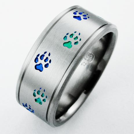 Resultado de imagen para titanium rings