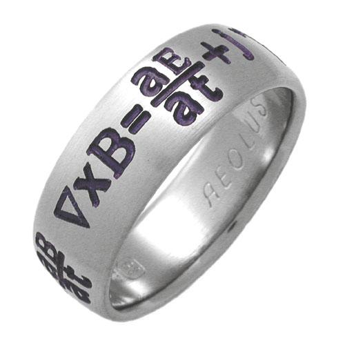 Titanium Hebrew Wedding Rings
