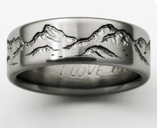Women S Black Gold Wedding Rings